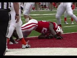 RB Montee Ball suffered his 2nd concussion while scoring a touchdown against UTEP