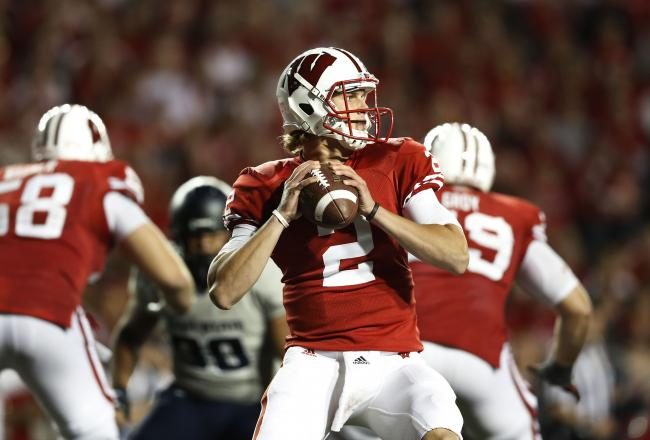 Stave has been Wisconsin's starting quarterback since taking over at halftime in the Utah State game.