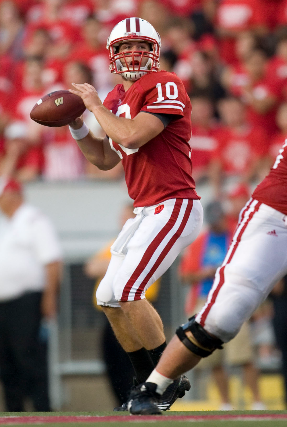 The Badgers hope Curt Phillips can spark the offense starting the last three regular season games.