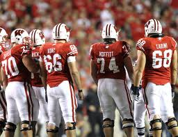 The 2010 Wisconsin offensive line paved the way for nearly three 1,000 yard-rushers and a trip to Pasadena.