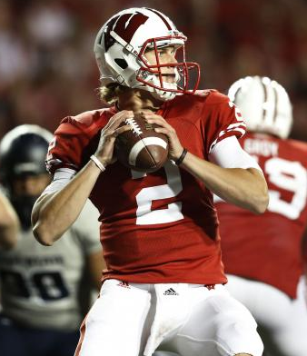Joel Stave emerged as a steady quarterback before his injury