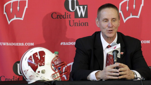 Andersen impressed in his first press conference as Badger head coach