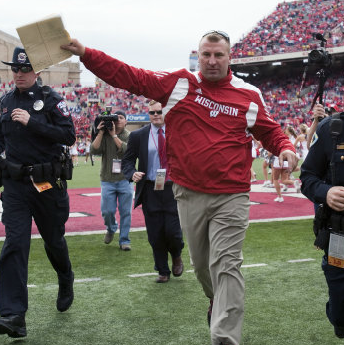 Bielema took the system Alvarez put in place and honed it into an offensive juggernaut