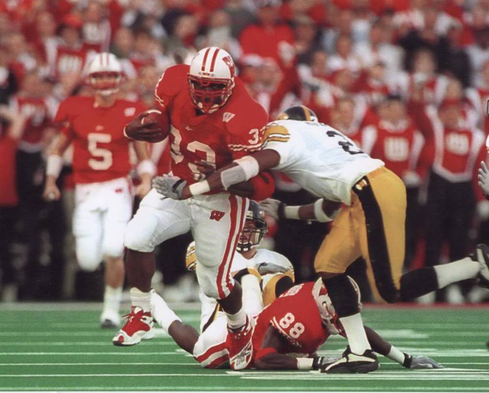 Ron Dayne's record-breaking career almost single-handedly put Wisconsin football on the national radar.