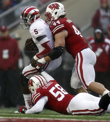 Badgers need to see more of this from Borland to beat SC