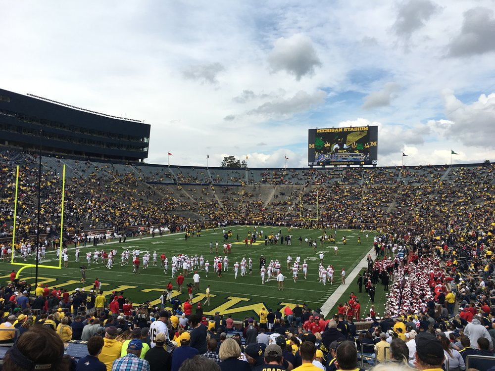 The Big House, pre-game
