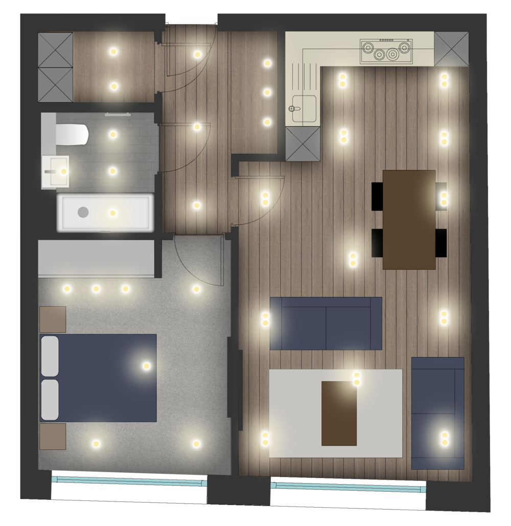 Bernard morgan house bathroom-1-50 Flat Layout.png