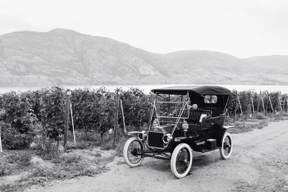 1911 RHD Model T Ford Touring @ Painted Rock Winery in Penticton B.C