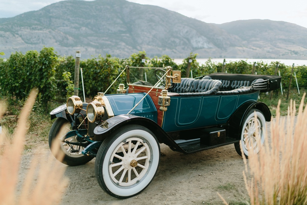 1912 Oakland Model 40 @ Painted Rock Winery in Penticton B.C