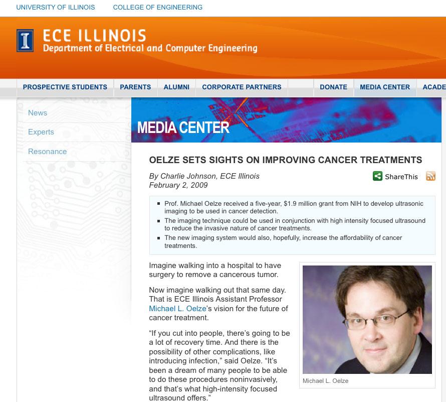 ECE Illinois February 2, 2009