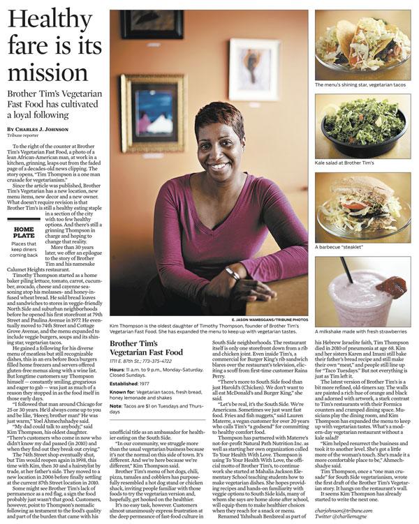 Chicago Tribune June 20, 2013