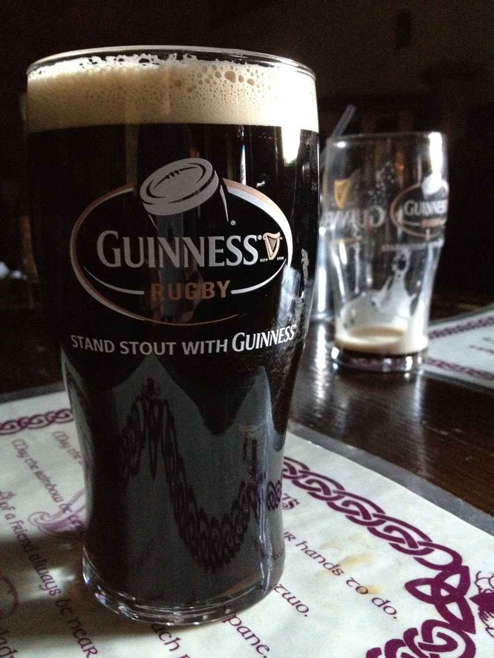 Stout and rugby