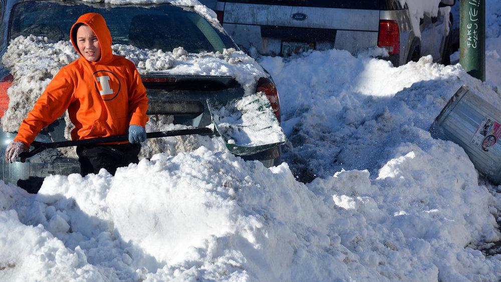 A snow story Feb. 3, 2015