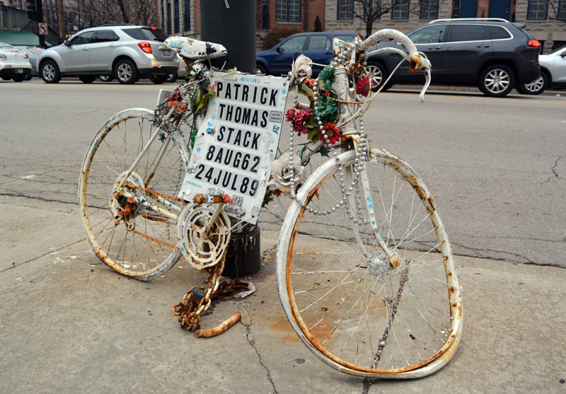 Mapping Chicago's ghost bikes   Chicago Tribune