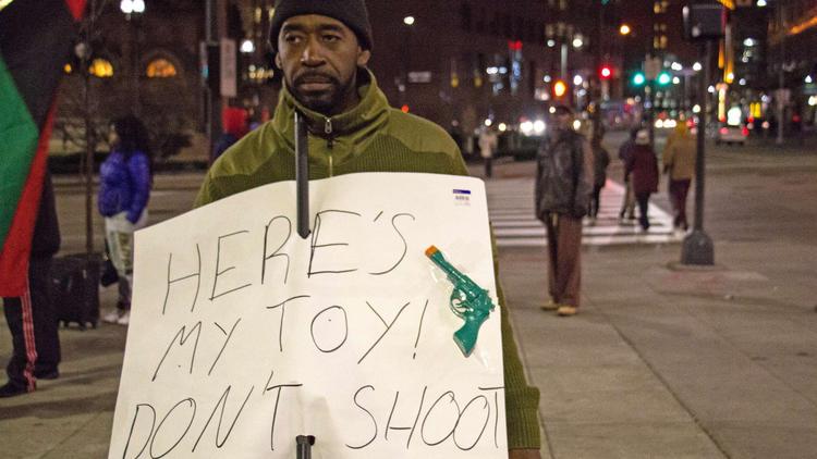 The shooting of Tamir Rice Nov. 28, 2014