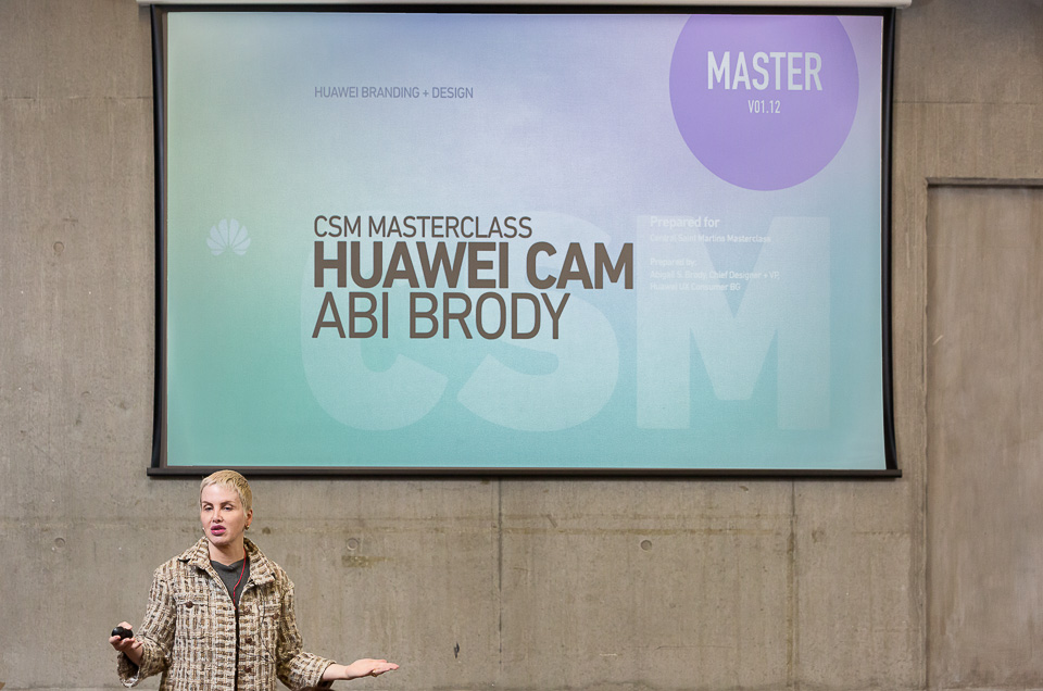 Abi Brody - Huawei Masterclass at CSM