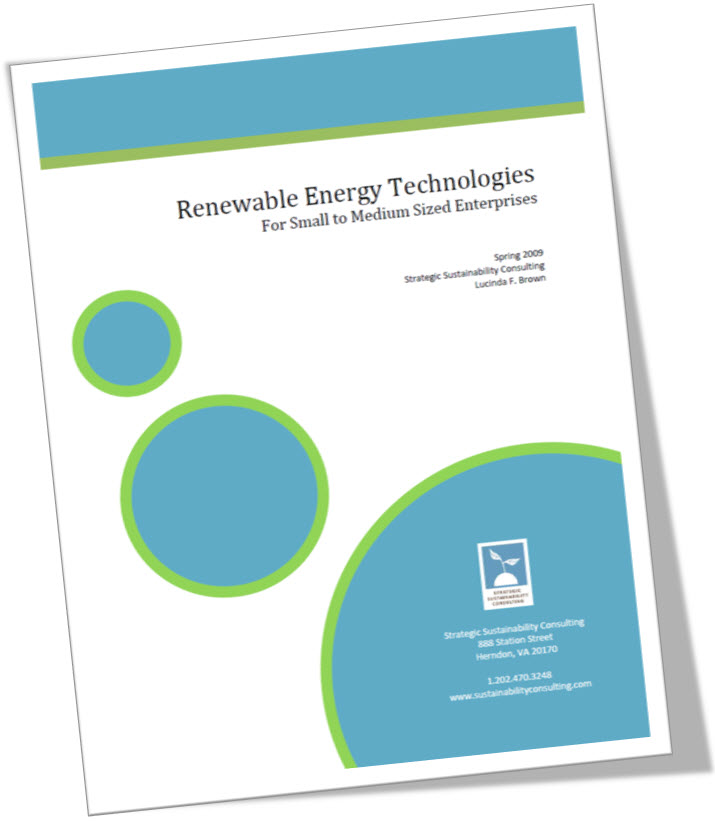 Renewable Energy Technologies for SMEs