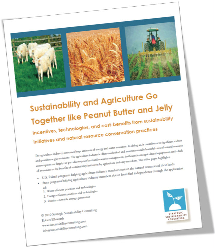 Sustainable Agriculture Go Together Like Peanut Butter and Jelly
