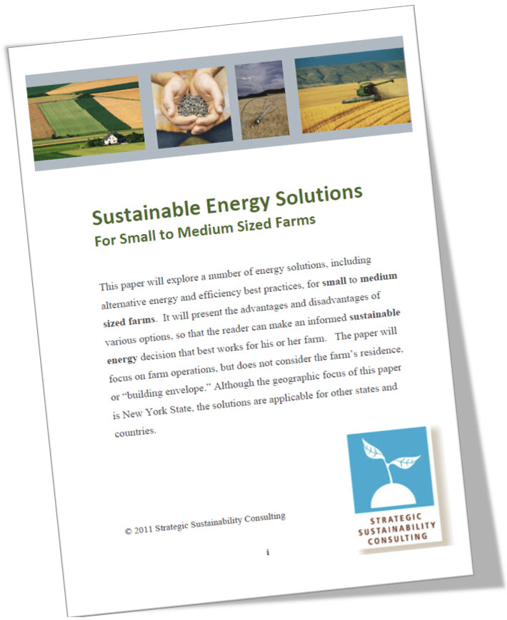 Sustainable Energy Solutions for Small and Medium Sized Farms