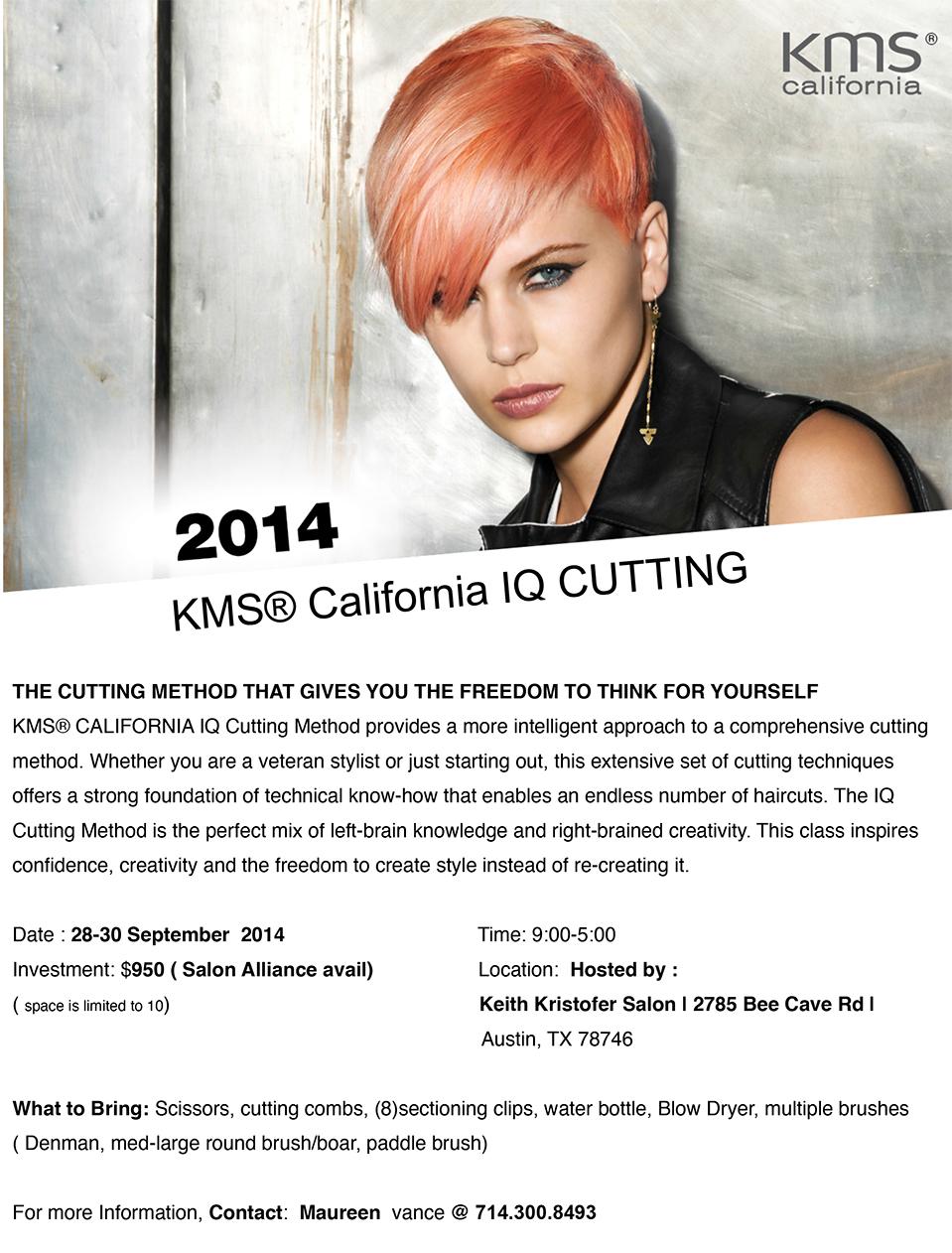 KMS IQ Cutting