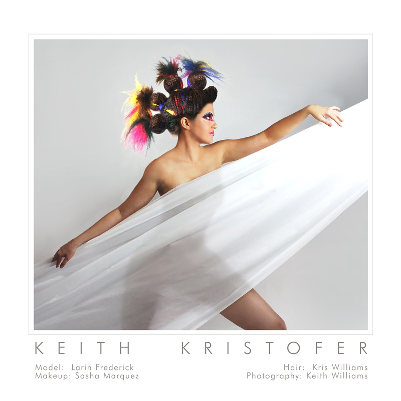 Oribe shoot at Keith Kristofer Salon