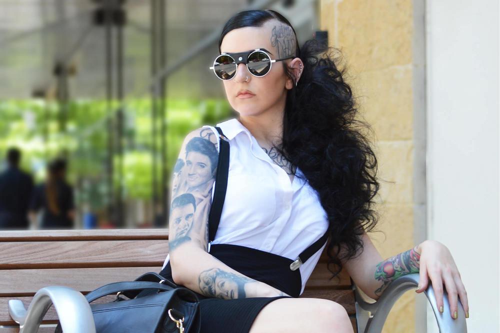 Shaved Hair Style - KEITH KRISTOFER SALON