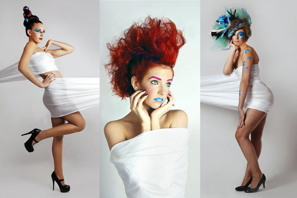 Hair Salon Photo Shoot - KEITH KRISTOFER SALON