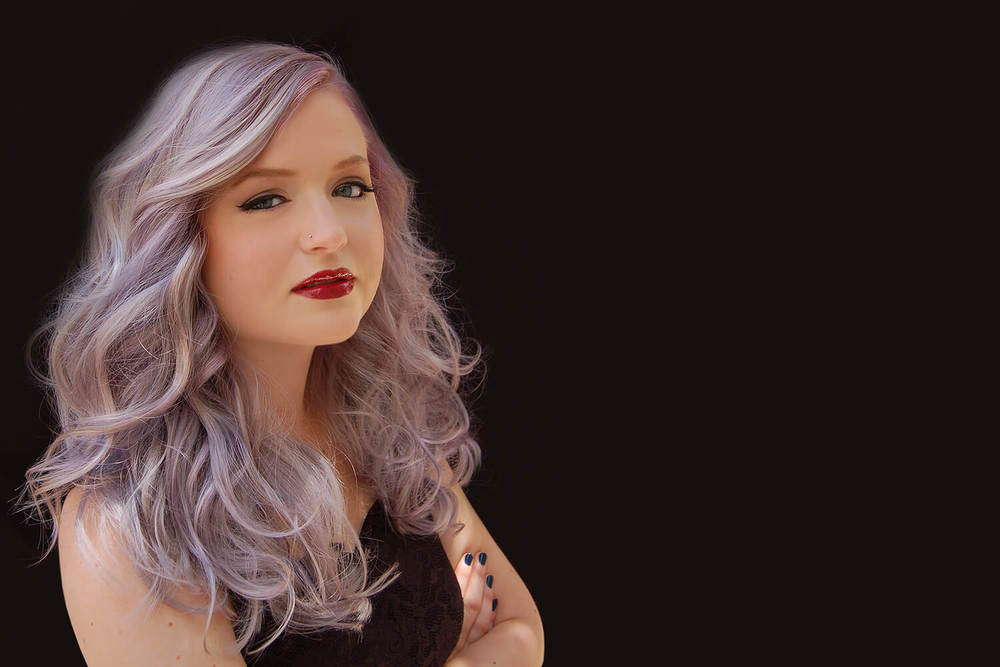 Violet Hair Color - KEITH KRISTOFER SALON