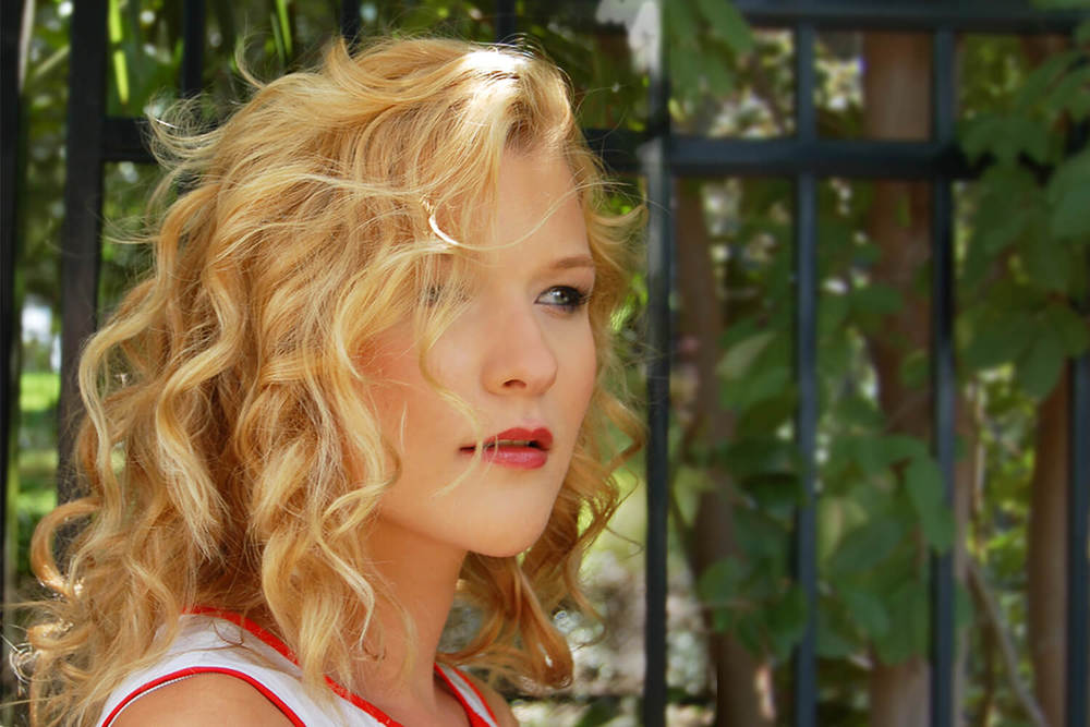 Blonde Highlights and Curls - KEITH KRISTOFER SALON