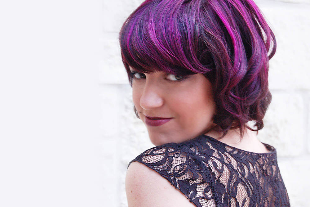 Purple Hair Color - KEITH KRISTOFER SALON