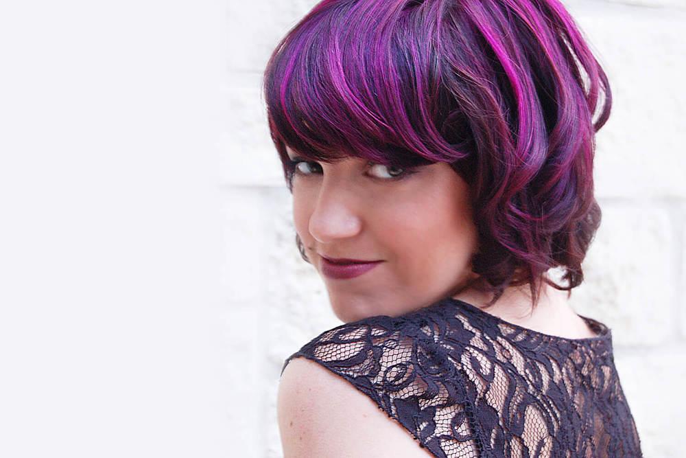 Purple Hair Color - KEITH KRISTOFER SALON
