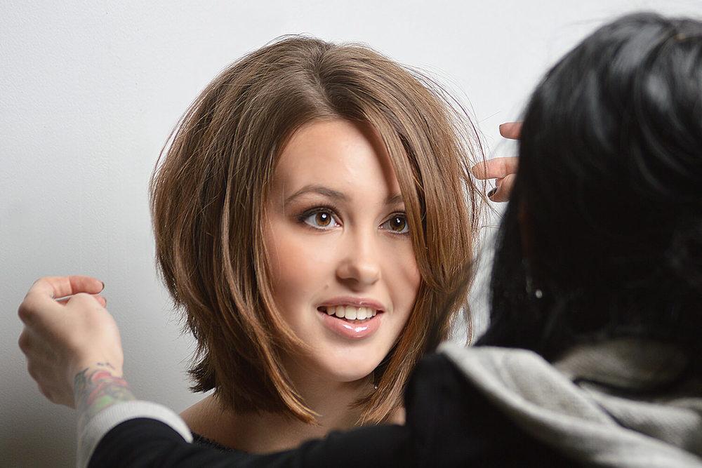 McKenzie with a New Bob Cut