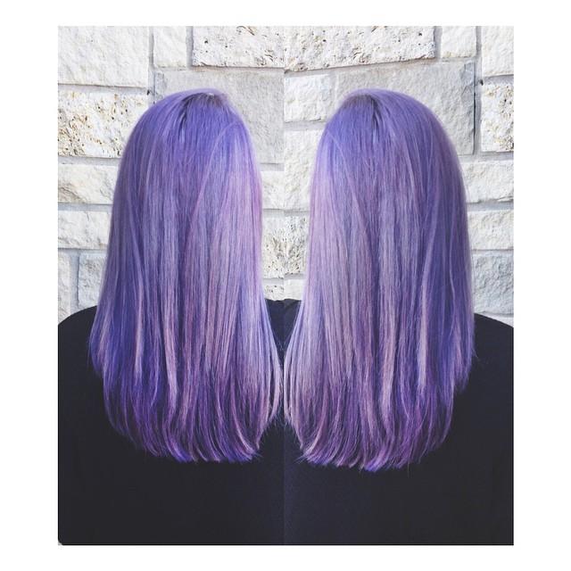 purple hair - Keith Kristofer Salon