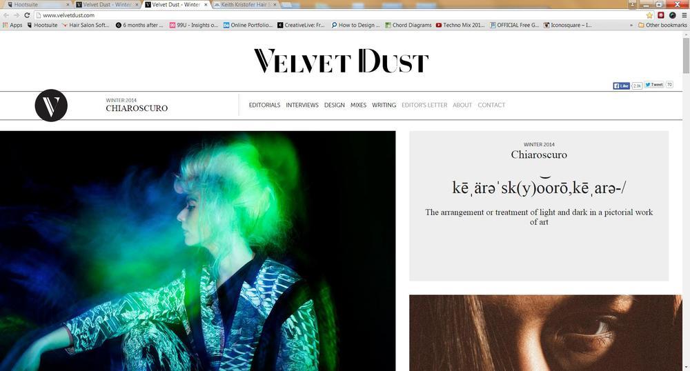Austin's Velvet Dust