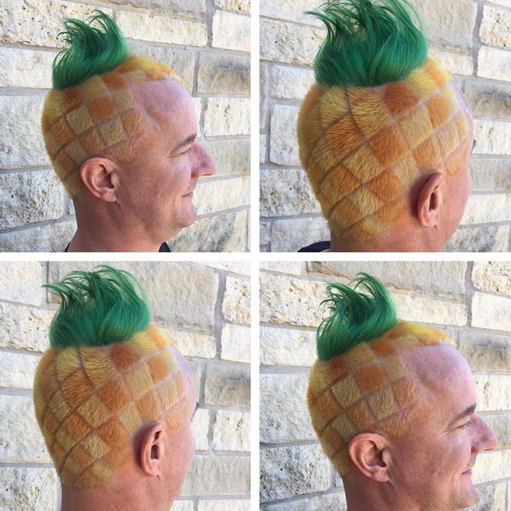 pineapplehair