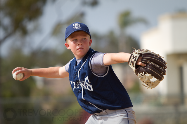 South Bay Titans Pitcher