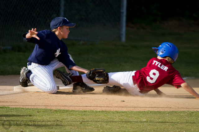 Encinitas Little League Third Baseman