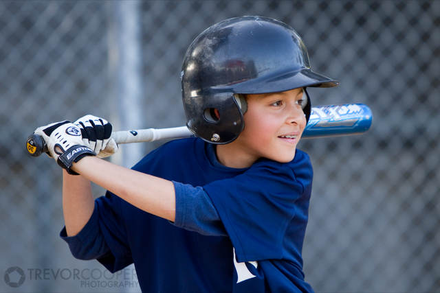 Encinitas Little League Minor A Yankees Batter