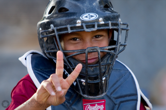 Encinitas National Little League Catcher
