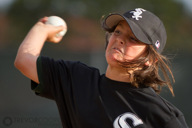 Encinitas Little League Minor A White Sox Pitcher