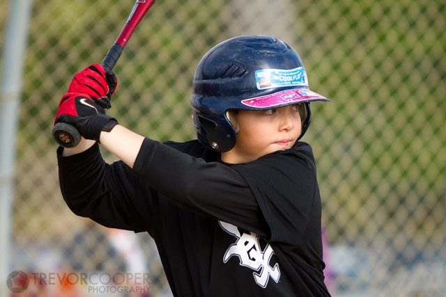 Encinitas Little League Minor A White Sox Batter