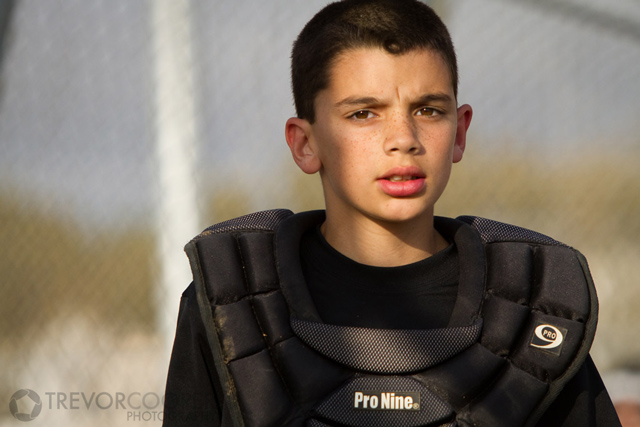 Encinitas Little League Minor A White Sox Catcher
