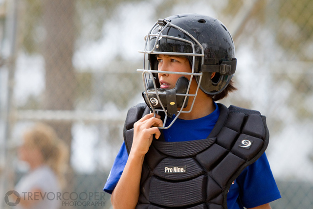 Encinitas Little League Minor A Rangers Catcher