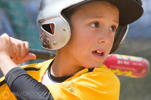 Encinitas Little League Player at La Costa Canyon Homerun Derby.