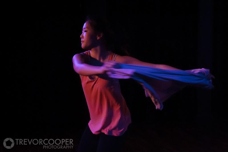 """John Wayne Gacy, Jr."", Choreography: Pascalle Rodriquez, Music: Sufjan Stevens, Dancer: Bora Yoon."
