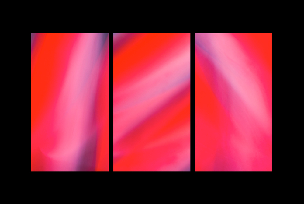 032 - Neon Motion Triptych