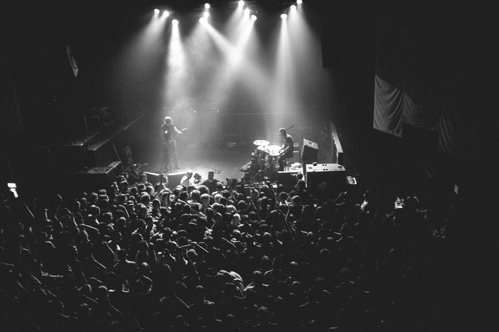 Overview of mayhem at the Japandroids in Vancouver at the Biltmore, by Tom Nugent