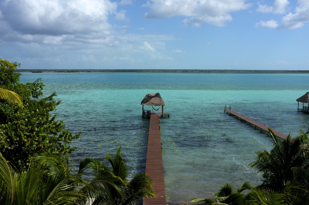 Bacalar Lagoon, Costa Maya in Mexico
