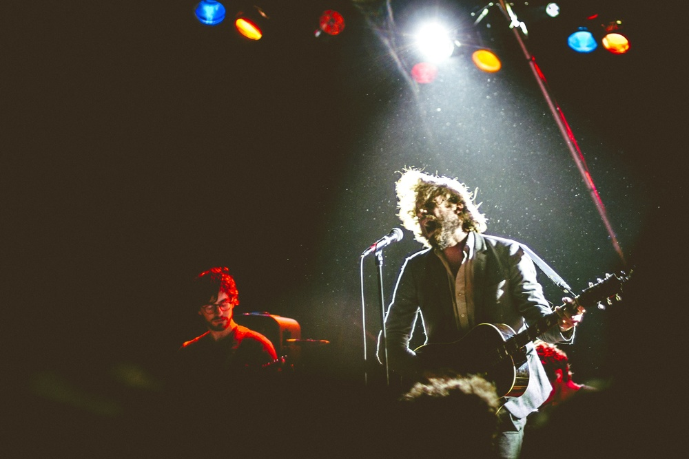 This is one of my favourite photos in a long while, let alone photos of rock 'n roll in action. It's a shot of J. Tillman, touring recently with his new material as Father John Misty. Taken at The Commodore in Vancouver by Tom Nugent.