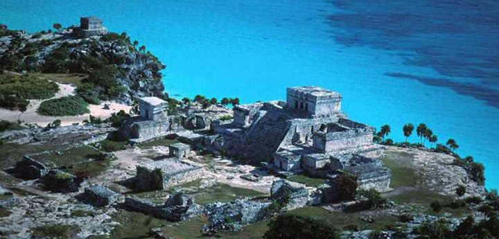 Another aerial view of the ruins. Not our photo. No credit known.